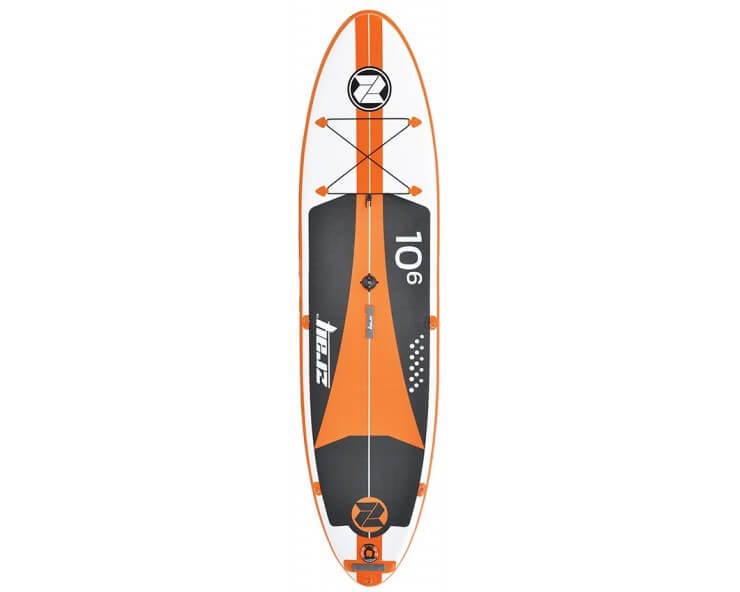 zray w2 paddle gonflable avec voile