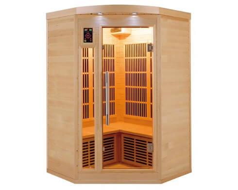 sauna infrarouge apollon 2 3 places france sauna