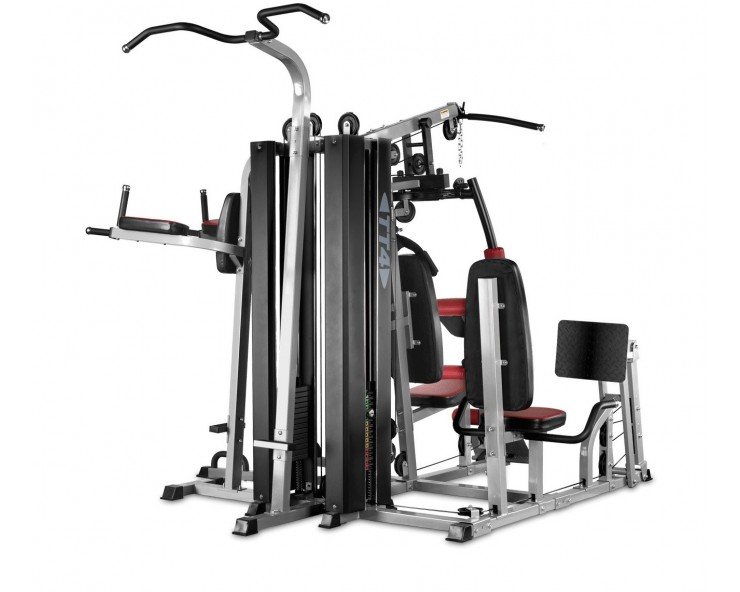 bh tt 4 appareil musculation charges guidees