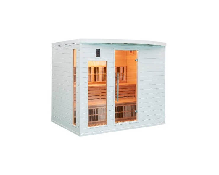 france sauna soleil blanc 5 places