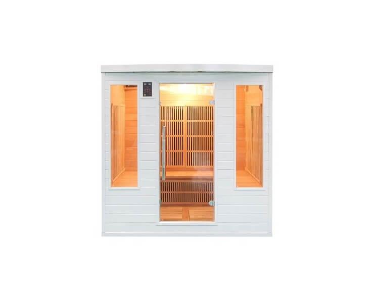 france sauna soleil blanc 4 5 places