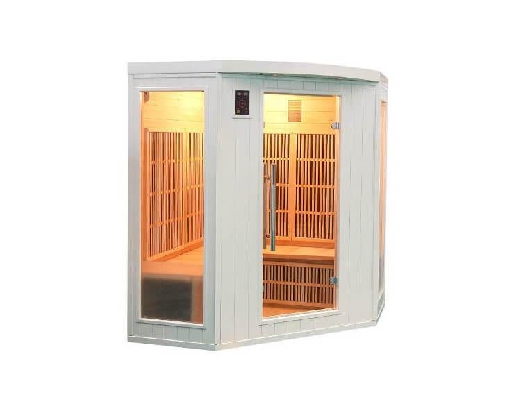 france sauna soleil blanc 3 4 places