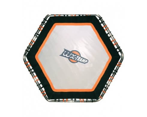 trampoline aquatique hexagonal waterflex