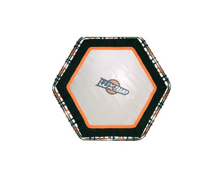 trampoline aquatique hexagonal waterflex