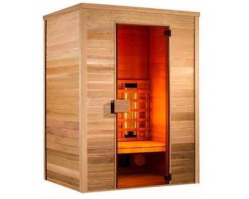 holl s multiwave 2 place sauna