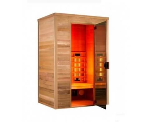 sauna holl s multiwave 3 places