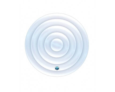 netspa couvercle gonflable rond spa 6 places