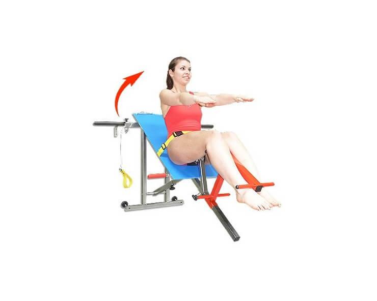banc de musculation aquatique  gaia