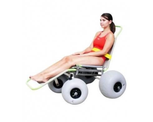 fauteuil roulant tout terrain baroudeur archimede