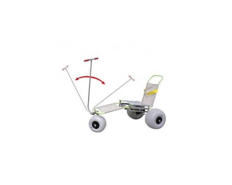 fauteuil roulant tout terrain junior triroll
