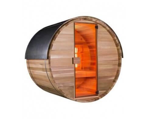 sauna infrarouge exterieur hool s barrel