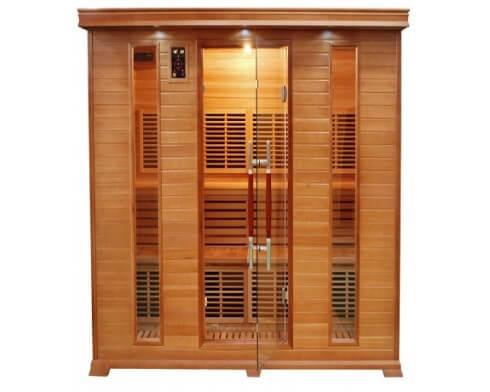 sauna infrarouge france sauna 5 places