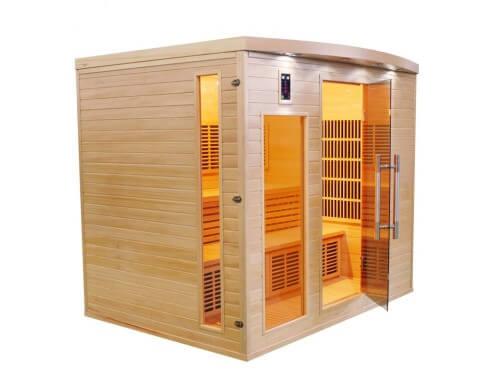 sauna infrarouge france sauna apollon 5 places