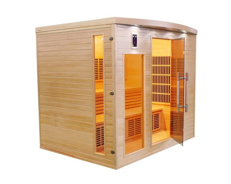 sauna infrarouge france sauna apollon 5 places