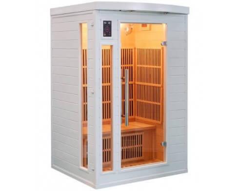 france sauna sauna infrarouge soleil blanc 2 personnes