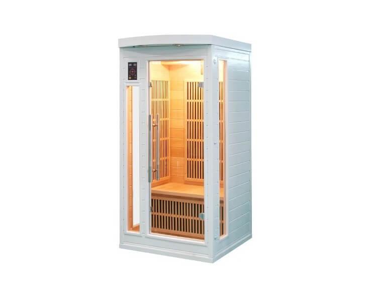 france sauna sauna infrarouge 1 place soleil blanc