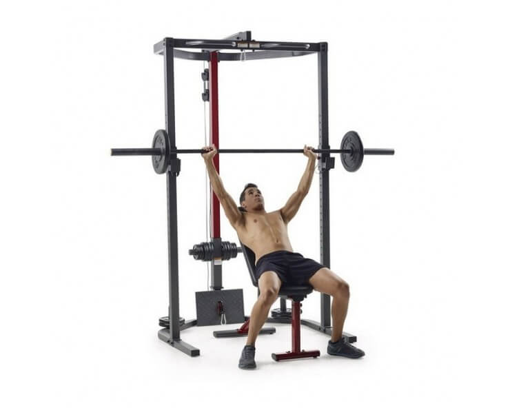 station musculation weider power rack