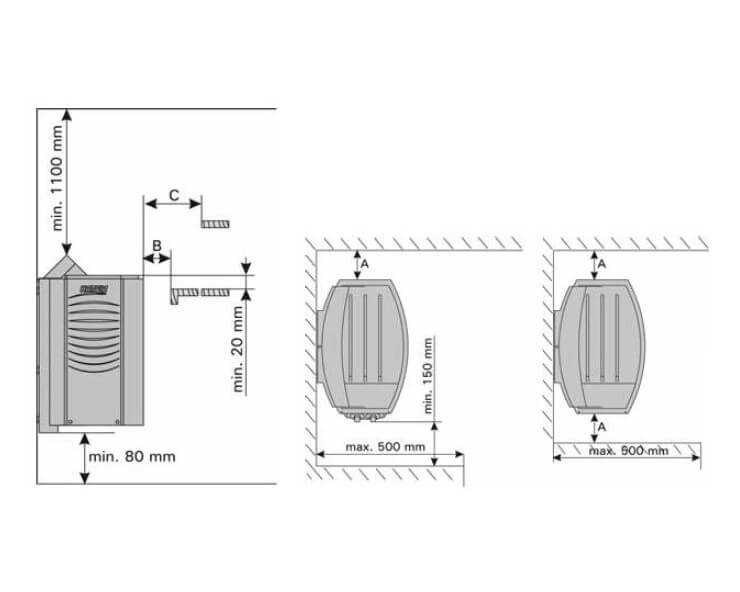 harvia vega 4 5 kw poele electrique sauna