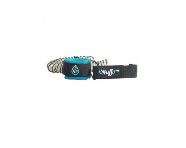 skiffo surf leash coiled 8 mm