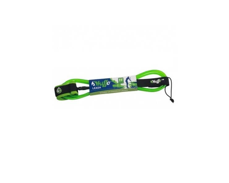 skiffo surf leash 8 mm vert