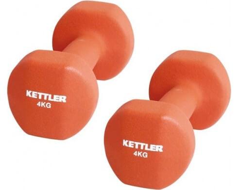 kettler set 2 halteres 4 kg
