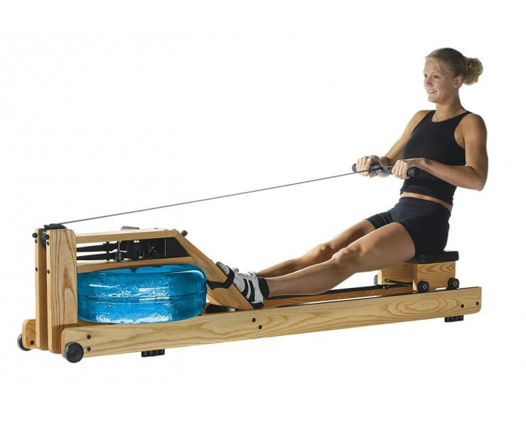 rameur à eau waterrower