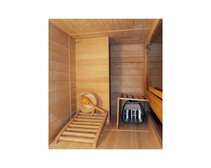 sauna traditionnel zen 2 places