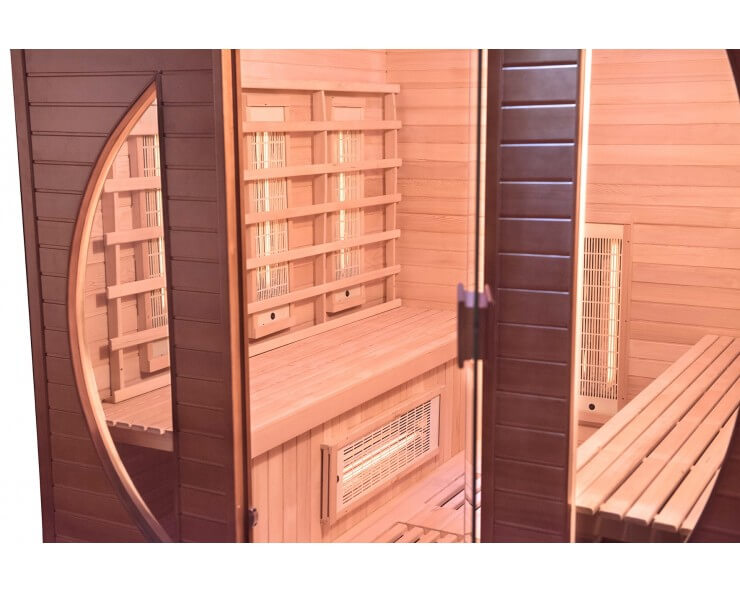 france sauna spectra 4 places