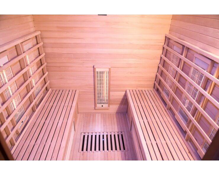 sauna infrarouge quartz magnesium