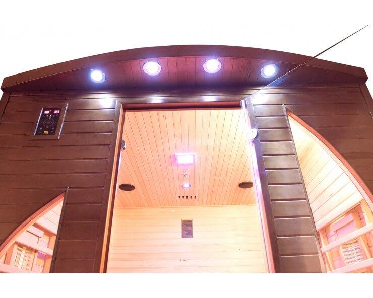 cabine sauna spectra 4 places