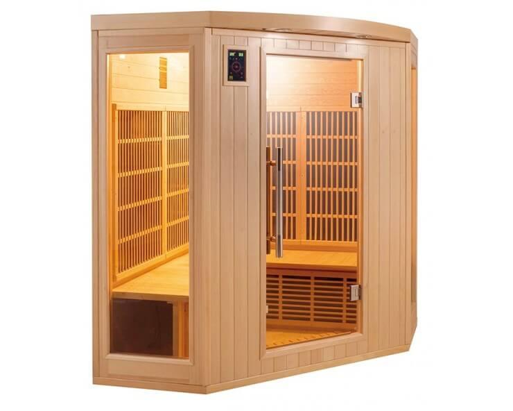 sauna infrarouge apollon 3 a 4 places