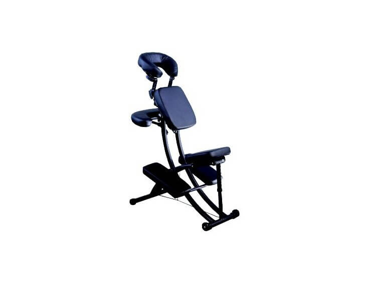 chaise de massage oakworks