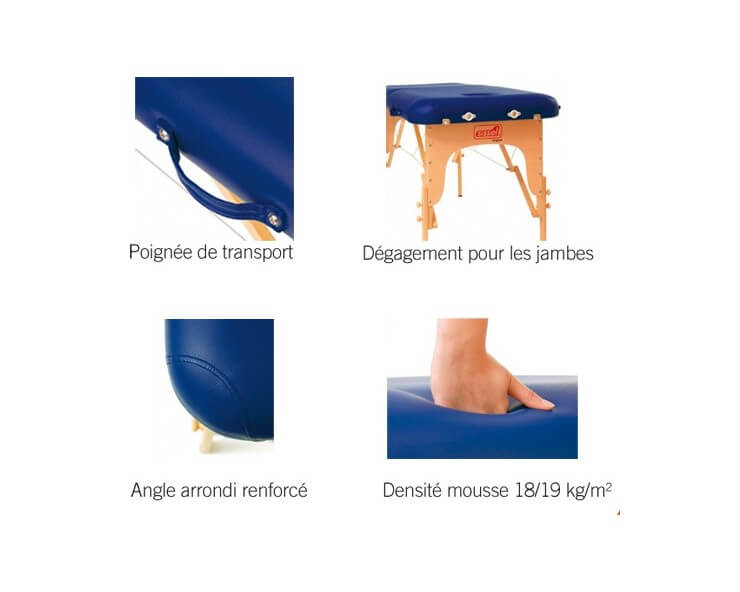 table de massage pliante robusta sissel