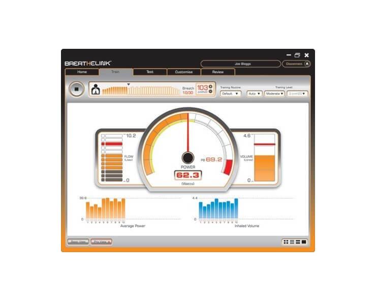 powerbreathe K5 avec logiciel