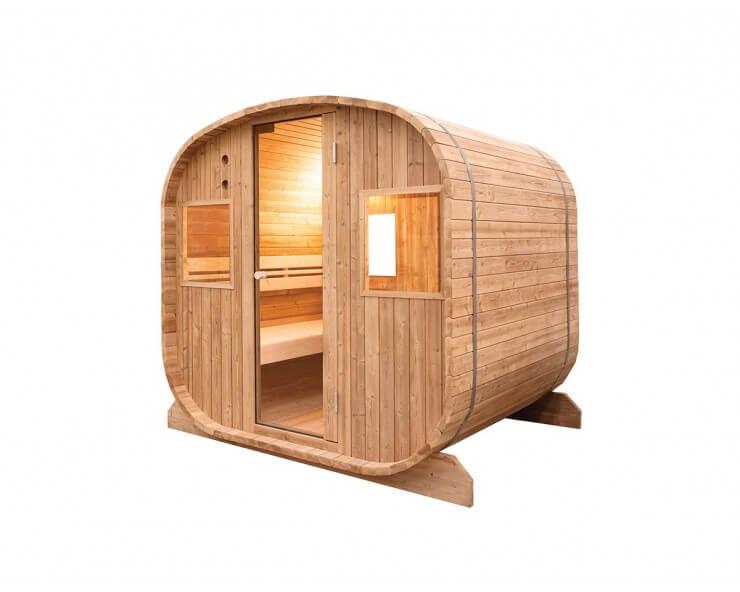sauna extérieur Holl's 6 places