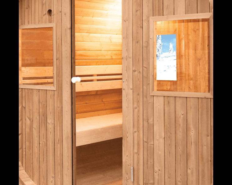 sauna vapeur extérieur Holls Barrel