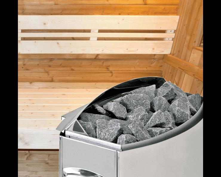 Cabine sauna extérieure Barrel