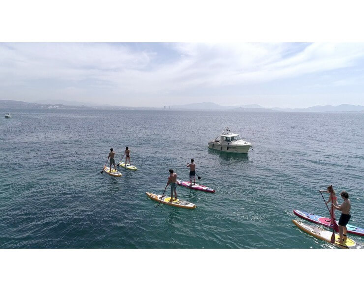 planche de paddle gonflable odyssea coasto