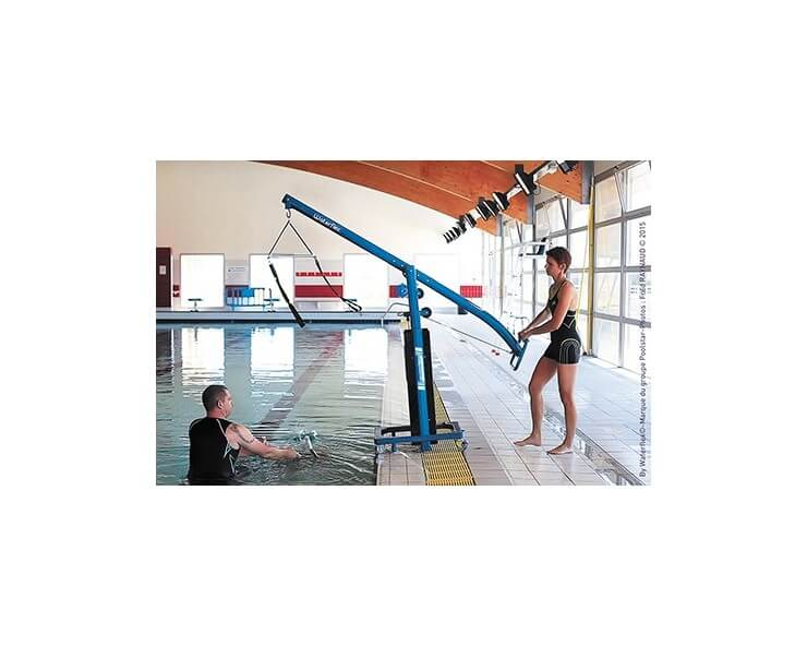 waterflex mat de levage aquabike