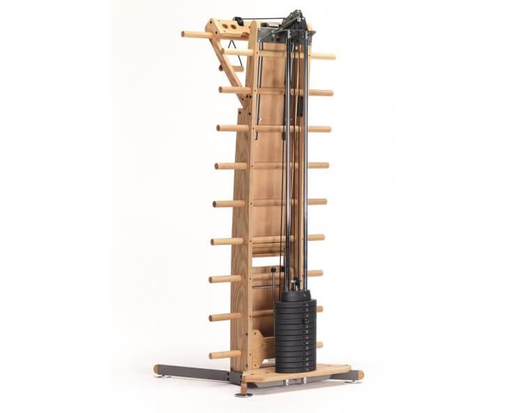 appareil de musculation multifonction nohrd weightworkx noyer
