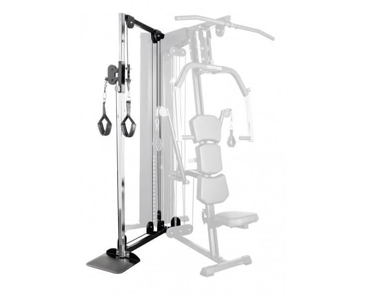 machine musculation kinetic system kettler module 1 double tirage de câble