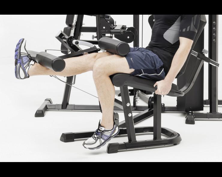 musculation appareil kettler kinetic system module extension de jambes