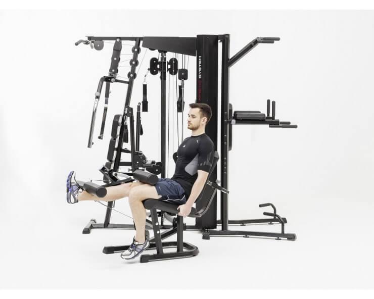 appareil de musculation kinetic system kettler module extension de jambes