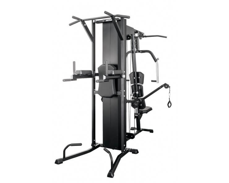 Musculation appareil kettler module chaise romaine kinetic system