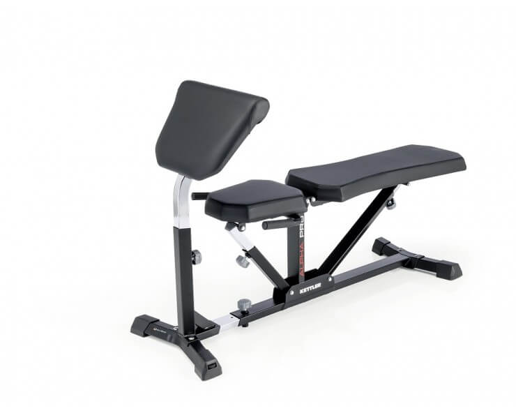 pupitre biceps pour banc de musculation alpha pro et primus