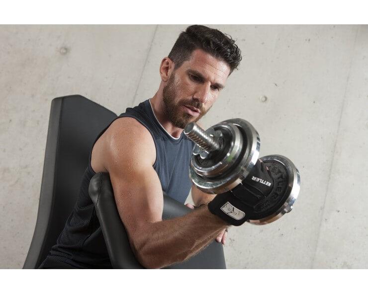 pupitre à biceps pour banc musculation kettler alpha et primus