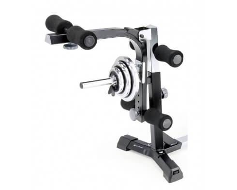 leg extension kettler pour banc de musculation alpha pro