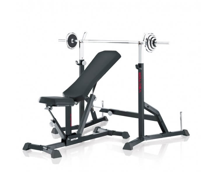 rack musculation kettler rack