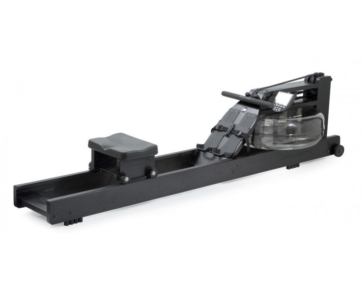 rameur à eau waterrower black
