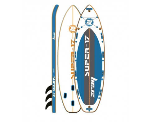 stand up paddle gonflable zray super 17